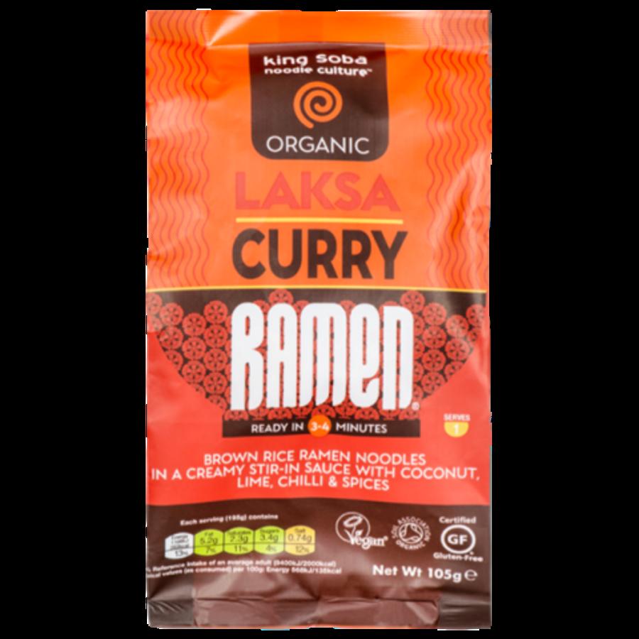 Laksa Curry Ramen Biologisch