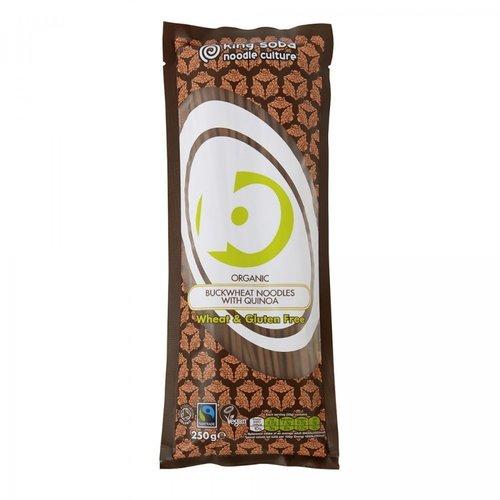 King Soba Boekweitnoedels met Quinoa Biologisch