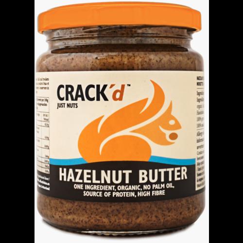 Crack'd Hazelnootpasta Biologisch
