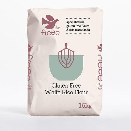Doves Farm Rijstmeel 16 kilo