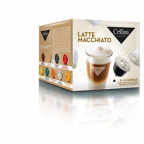 Cellini Latte macchiato 10 capsules