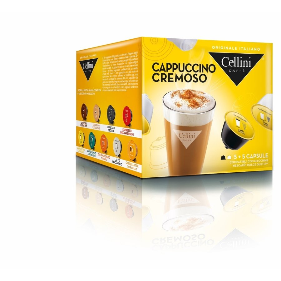 Cappuccino cremoso 10 capsules