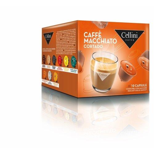 Cellini Caffe macchiato 10 capsules