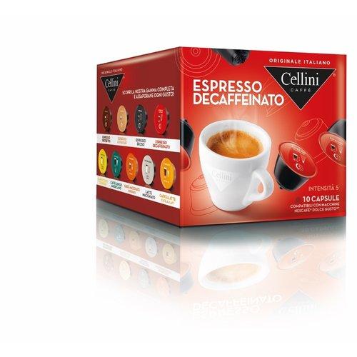 Cellini Espresso Decafe 10 capsules