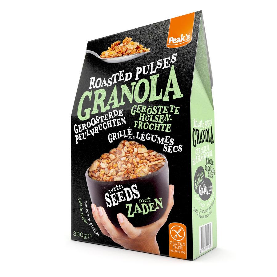Granola met Peulvruchten, Granen en Zaden
