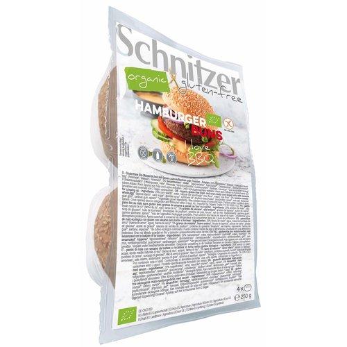 Schnitzer Hamburgerbroodjes Biologisch