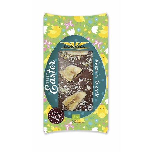 Bonvita Chocoladereep met Banaan, Mango & Framboos Biologisch
