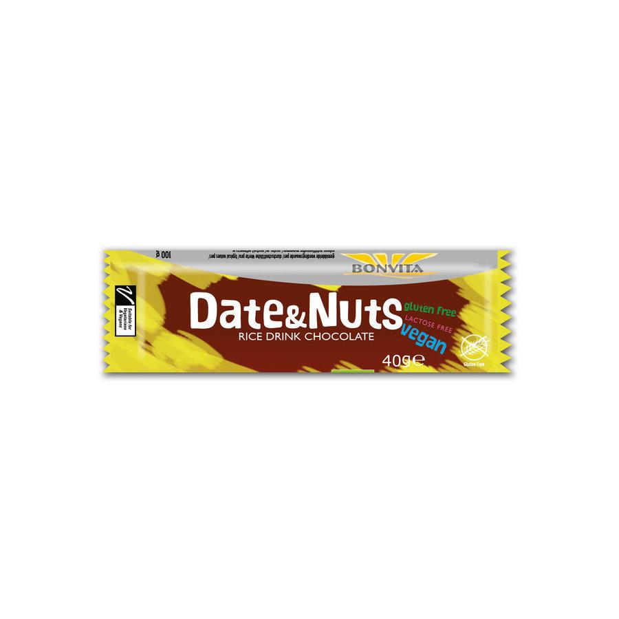 Choco Dates & Nuts Bar Biologisch