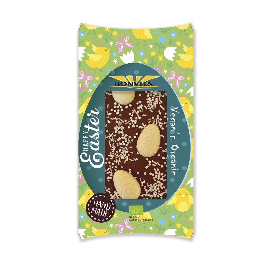Chocoladereep Met Witte Eieren En Hagelslag Biologisch