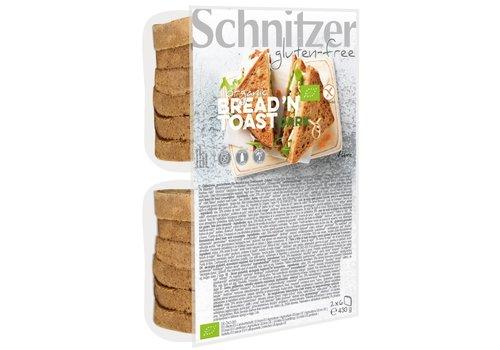 Schnitzer Bread'n Toast Bruin Biologisch