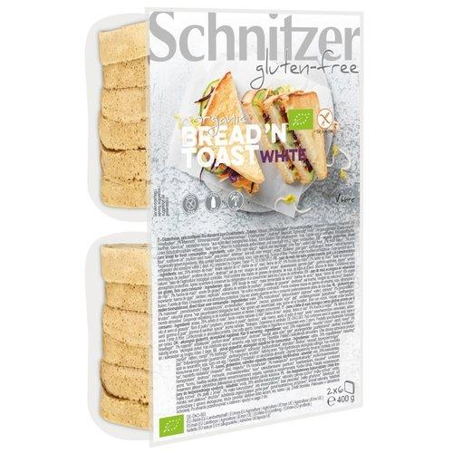 Schnitzer Bread'n Toast Wit Biologisch