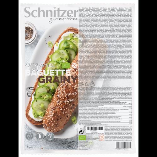 Schnitzer Meerzaden Baguette Bake-off 2 Stuks Biologisch