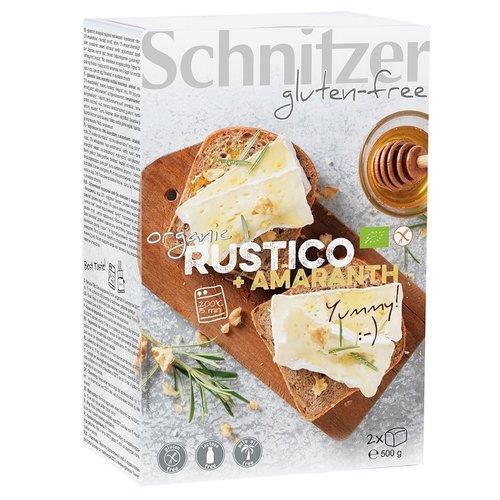 Schnitzer Rustico Brood met Amaranth Bake-off Biologisch