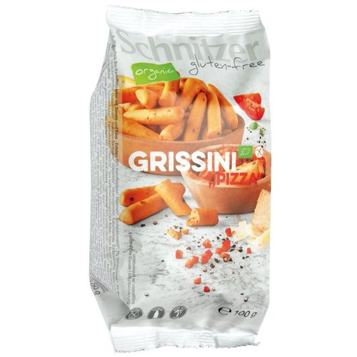 Schnitzer Grissini Pizza (mini soepstengels) Biologisch