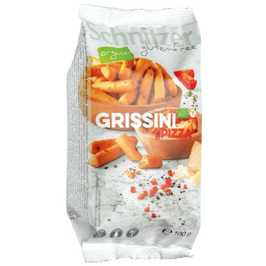 Grissini Pizza (mini soepstengels) Biologisch