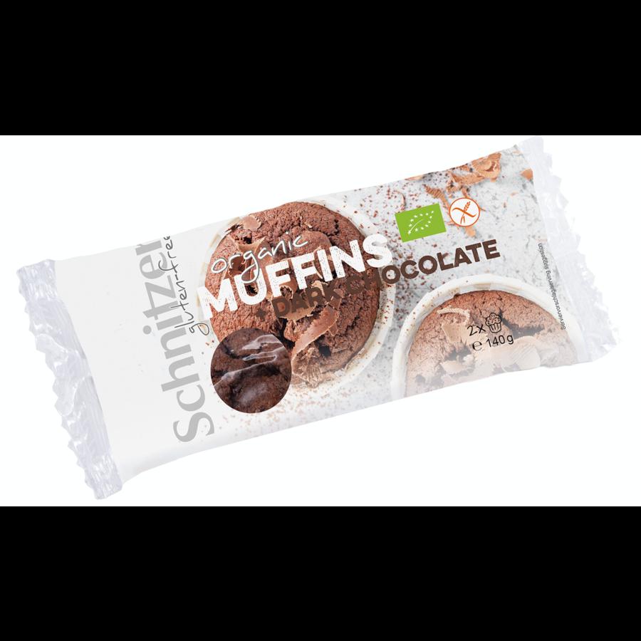 Muffin Chocolade Biologisch 2 Stuks