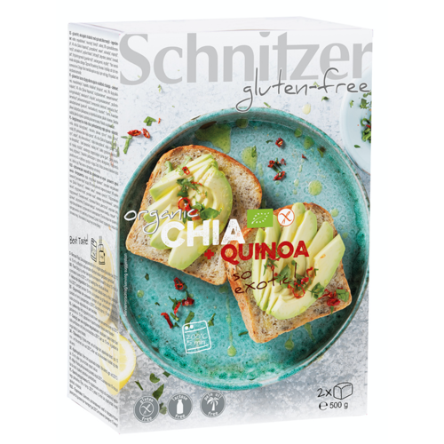 Schnitzer Brood met Chia en Quinoa Biologisch