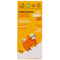 Karamel Zeezout Chocoladereep