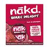 Nakd Berry Delight Framboos  Bar 4-pack