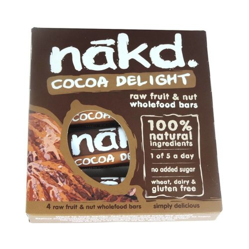 Nakd Cocoa Delight Bar 4-pack