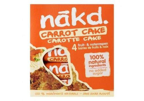 Nakd Carrot Cake Bar 4-pack