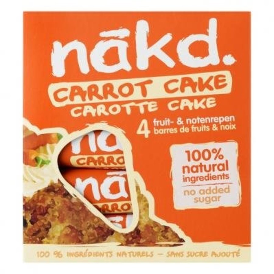Carrot Cake Bar 4-pack
