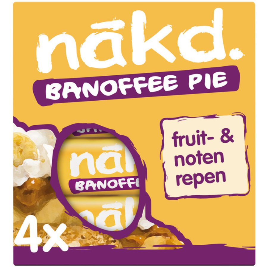 Banoffee Pie Bar 4-pack