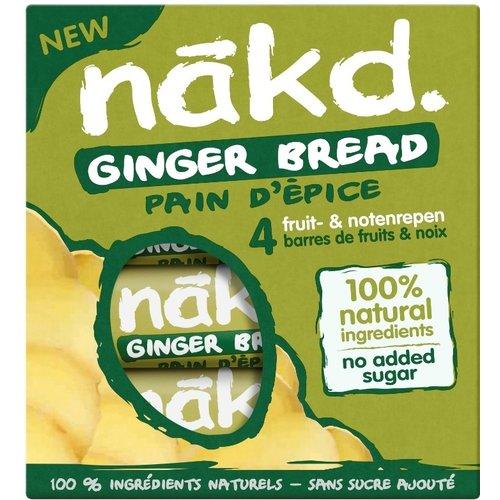 Nakd Ginger Bread Bar 4-pack