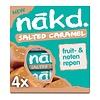 Nakd Salted Caramel Bar 4-pack
