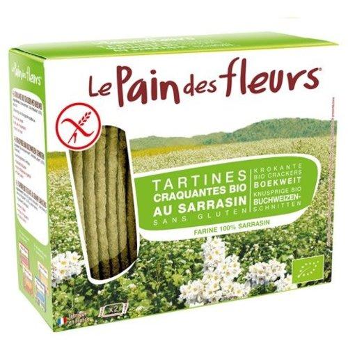 Le Pain des Fleurs Krokante Crackers Boekweit Biologisch