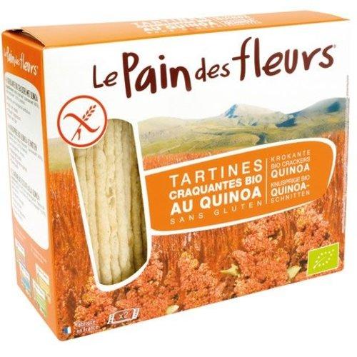 Le Pain des Fleurs Krokante Crackers Quinoa Biologisch