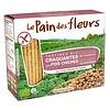 Le Pain des Fleurs Krokante Crackers Kikkererwten Biologisch