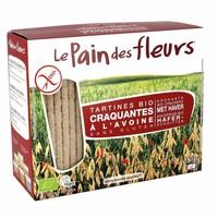 Krokante Crackers Haver Biologisch