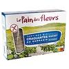 Le Pain des Fleurs Krokante Crackers Boekweit zonder zout/suiker Grootverpakking Biologisch
