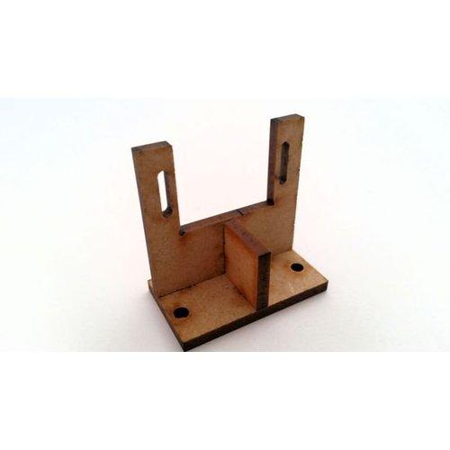 DTS MDF Servo bracket construction kit set of 10 pieces