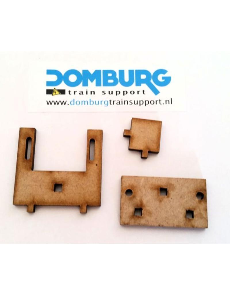DTS MDF Servobeugel bouwpakket set van 10 stuks