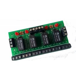 DTS HPP4 relaismodule Bouwpakket 12V