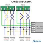 DIGIKEIJS Digikeijs lichtset voor Fleischmann/Minitrix NS 1600/1700/1800 (N)