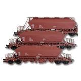 KUEHN MODELL Kuehn set van 3 Kaliwagens Uaoos 9331   DR   Bruin