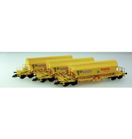 KUEHN MODELL Kuehn set van 3 Kaliwagens Taoos 9331 | Nacco | Geel