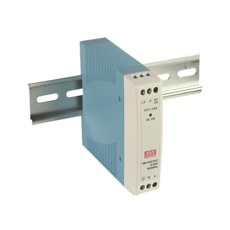 MEANWELL Meanwell MDR-40-05 DIN voeding 5V 6A
