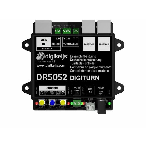 DIGIKEIJS Digikeijs DR5052 Basis Draaischijf controller