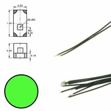 DIGIKEIJS Digikeijs DR60090 Green LED on wire (5 pieces)