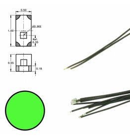 DIGIKEIJS Digikeijs DR60090 Groene led aan draad (5 stuks)