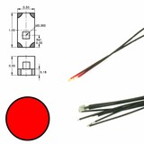 DIGIKEIJS Digikeijs DR60048 Red LED on wire (5 pieces)