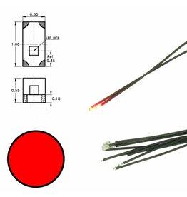 DIGIKEIJS Digikeijs DR60048 Rode led aan draad (5 stuks)
