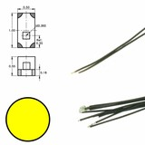DIGIKEIJS Digikeijs DR60091 Yellow LED on wire (5 pieces)