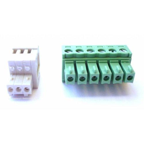 UHLENBROCK Uhlenbrock 61060 Stekkerset Intellibox & Power