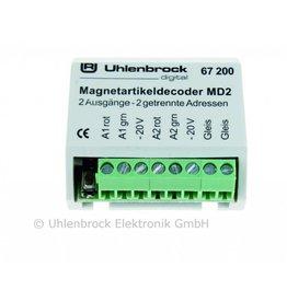 UHLENBROCK Uhlenbrock 67200 Magnetartikeldecoder MD2