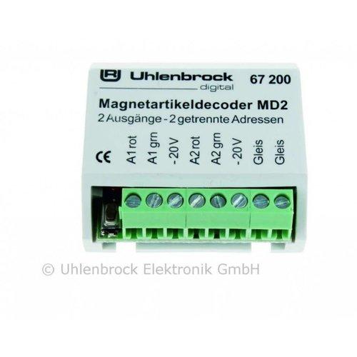 UHLENBROCK Uhlenbrock 67200 Schakeldecoder magneet MD2